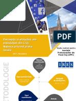Percepții și atitudini ale populației din Cluj-Napoca privind presa locală