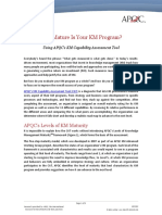 K03302 Understanding the APQC KM CAT