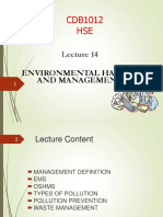 Lecture_14_Environmental Hazard and Management