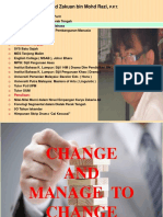 Change and Manage to Change