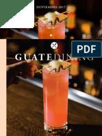 Colaboración en la revista Guatedining - Edición 39 - Octubre 2017