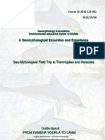 COURSE Geomythological Field Trip (not final