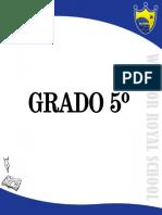 Creaciones Literarias Grado 5º
