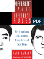 Haru Yamada, Deborah Tannen-Different Games, Different Rules_ Why Americans and Japanese Misunderstand Each Other-Oxford University Press (1997)