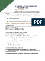Les Exigences de La Norme Iso 9001 Version 2008
