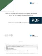 Guia de Llenado de CFDI de Nomina Version 12-3-3