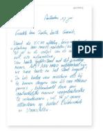 Brief van Rijnhard Snoeckaert aan Gerrit Zalm