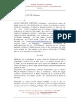 Demanda de Impugnacion Paternidad Oviedo