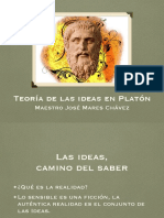 Teoria de Las Ideas Platonicas