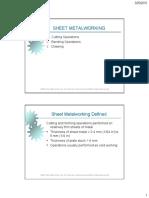Chapter 4-2 Sheet Metal Forming