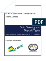 PDAC-SEG Gold Deposits Curso Marzo 2011