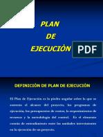 Plan de Eejecuciòn