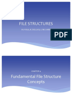 Chapter 4 Fundamental File Structure Concepts