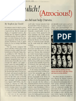 Abscheulich (Atrocious) Haeckels Distrortions Did Not Help Darwin SJG NH 109 March 200