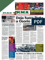 Primeras Planas medios nacionales México 27 nov 2017