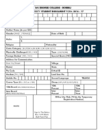 AU Enrollment Form