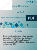 Pedagogia Hospitalar Aula 2