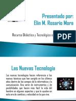 Recursos Didactico y Teconologíco en Nivel Inicial