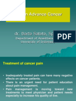 Pain in Advanced Cancer