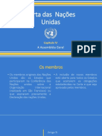 Presentação AG Nações Unidas