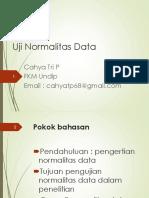Normalitas Data