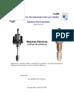Máquinas Eléctricas Manual de Prácticas Me_1