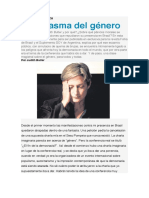 El fantasma del género -Judith Butler en Brasil
