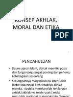 7-Konsep Akhlak, Moral, Dan Etika