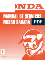 Manual de Servico NX 350 Sahara 1995