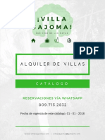 Catálogo Villas 23 11 2017