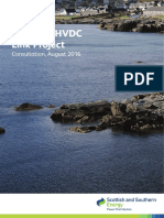 Shetland Hvdc Link Consultation Summary Booklet August 2016