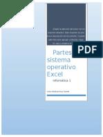 Partes Del Sistema Operativo Excel