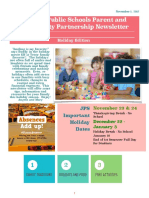 parent liaison newsletter nov dec 2017