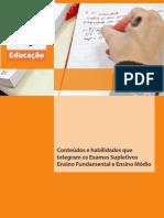 20120828 Exames Supletivos Conteudo