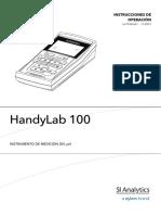 HandyLab 100 PH Meter 700 KB Spanish PDF