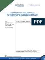 Norma Avaliação Desequilíbrio Econom Financ - Claim