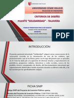 Puente Talavera - Solidaridad (Tfi)
