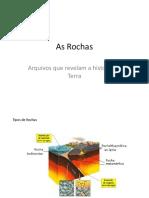 As Rochas e o Ciclo Das Rochas