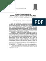 CORTÉS y MARSHALL Estrategia ec instit y neg pol en la reforma social de los 90.pdf
