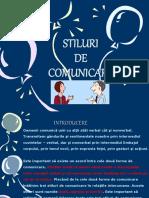 Stiluri de Comunicare