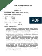 SECTOR INFORMAL URBANO EN BOLIVIA 2010 -2011.pdf