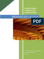 Memoria de Calculo(Madera) Galeana Cabrera