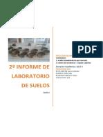 2º Informe de Laboratorio de Suelos