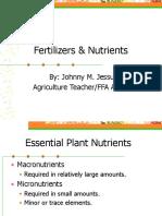 Fertilizers & Nutrients