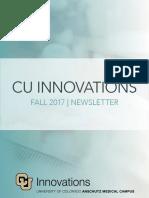 CU Innovations Fall 2017 Newsletter V18