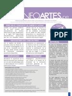 Boletin-Infoartes n2 2016