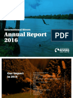 International Rivers' Annual Report 2016