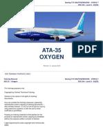 B737 NG ATA 35 Oxygen