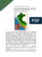Las Once Ecorregiones Del Perú