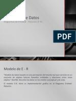 Modelado de Datos Mediante E-R